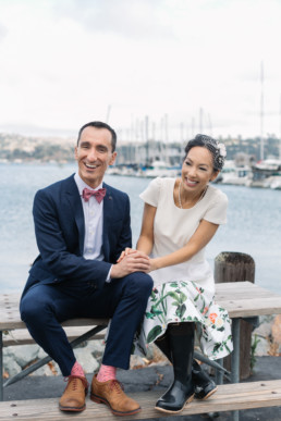 Lifestyle Wedding Photography Saulsalito San Francisco CA Waterfront