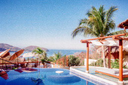 Travel Film Photography Zihuatanejo Mexico Fuji Yashica 35mm