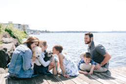 Kirkland Waterfront Seattle Family Photography